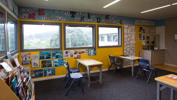 Inside the classroom at Nga Taiohi national youth forensic mental health inpatient unit in Porirua.