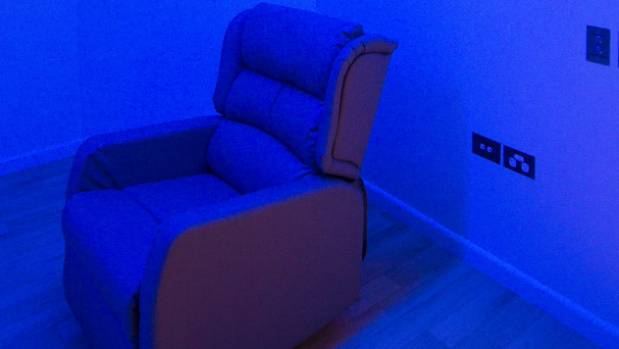 Lighting can be changed to suit the user of Nga Taiohi's sensory room - a forensic unit catering for teenaged offenders.