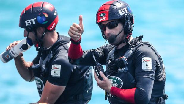 Sir Ben Ainslie's never-say-die attitude is a concern for Team New Zealand as they face Britain in the America's Cup