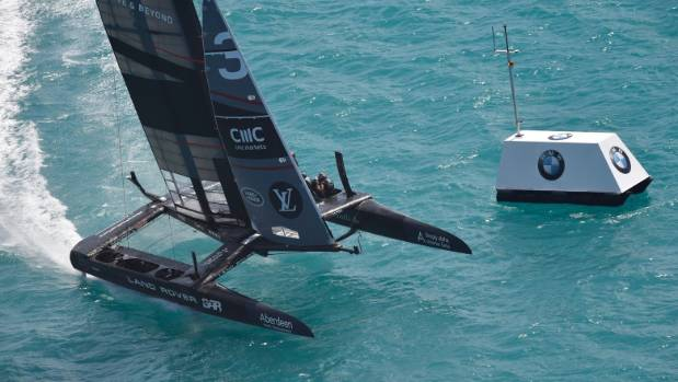 Ainslie retires from America's Cup trials race with damage
