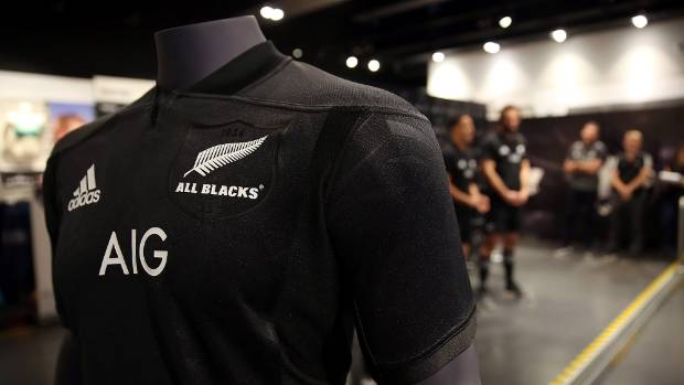 bb3af83e5c4 Lions tour: All Blacks unveil new jersey for Lions series | Stuff.co.nz