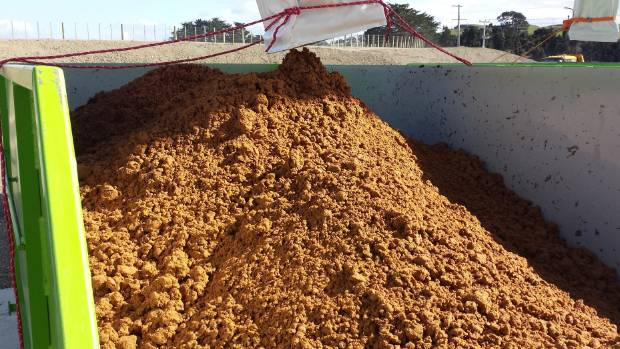 Waste activated sludge that is created from Fonterra's milk factories is being used as organic fertiliser by dairy farmers.