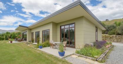 A house in Central Otago with a high six-star rating by Homestar.