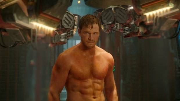 Chris Pratt looking more