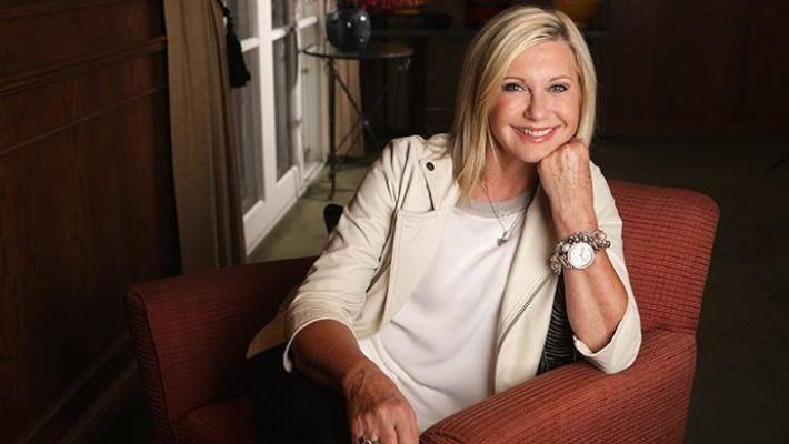 Olivia Newton-John was diagnosed with breast cancer again in 2017.