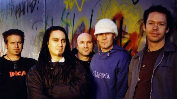 Salmonella Dub's lineup has remained largely intact since 2005. From left to right, Andrew Penman, Tiki Taane, Dave ...