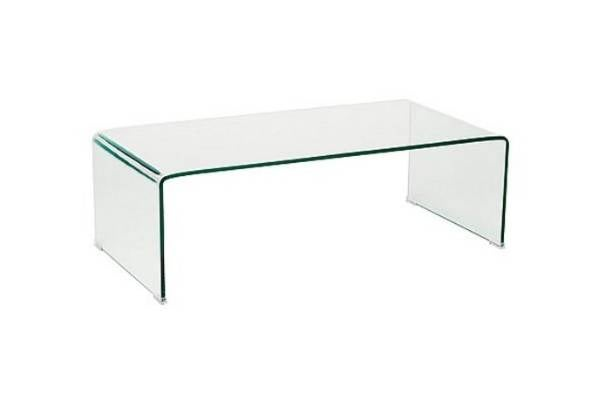 Clear but not crystal fantastic plastic furniture and decor Ghost coffee table