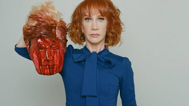 Kathy Griffin's Trump beheading stunt has killed her friendship with Anderson Cooper