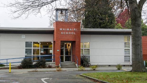 A Christchurch father has protested at Waimairi School after he says it failed to deal with bullying against his ...