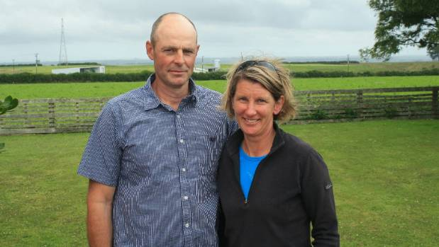 Ballance Farm Environment Awards national winners Peter and Nicola Carver.