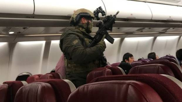 Man accused of Malaysia Airlines threat does not appear in court