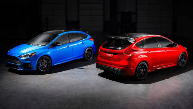 Ford Announces Special-Edition 2018 Focus RS