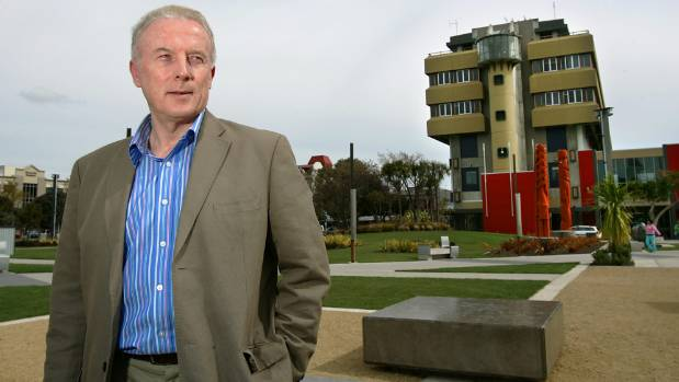 Former Palmerston North City Council chief executive Paddy Clifford in The Square in 2009.