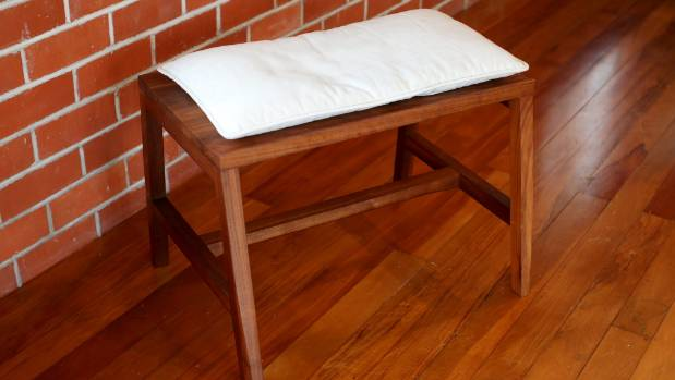 This bench seat by Tim Laing is one of Ellery's favourite furniture pieces.
