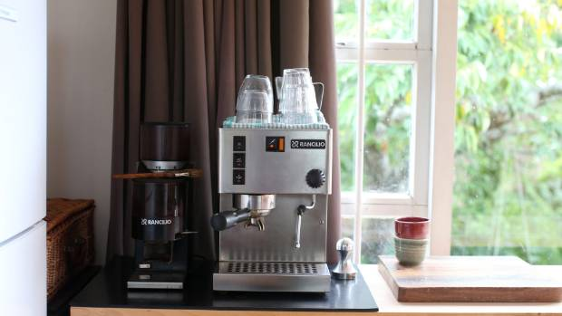 In a work-live scenario it's not surprise that Ellery's favourite kitchen tool is her coffee machine.