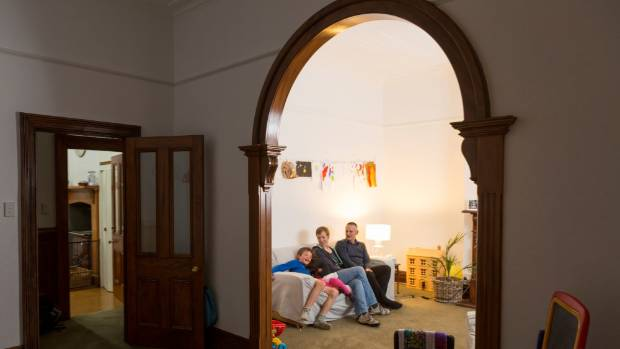 Dunedin family downsizing to a passive house in an urban