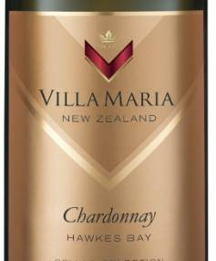 Villa Maria Cellar Selection Hawke's Bay Chardonnay 2016.
