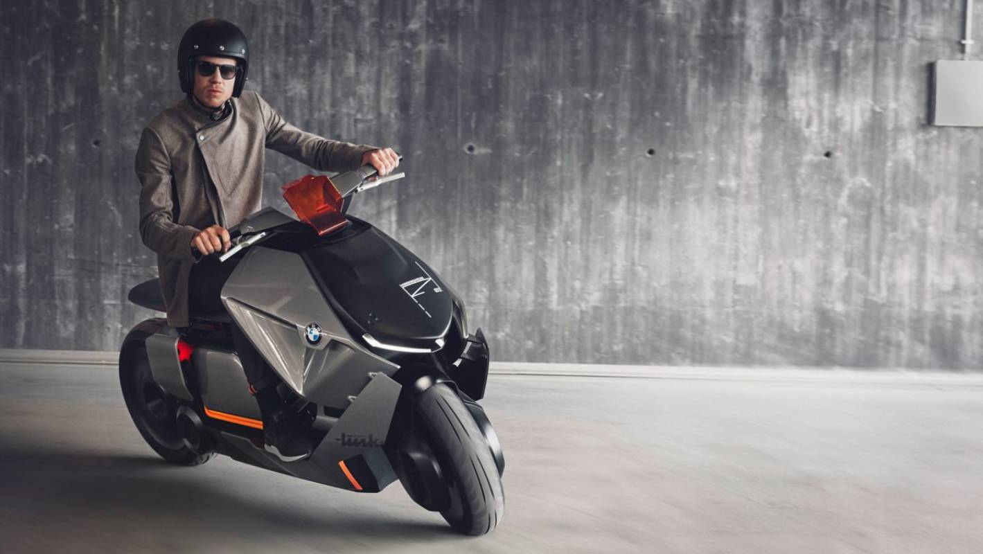 bmw scooter looks to reinvent city mobility. Black Bedroom Furniture Sets. Home Design Ideas