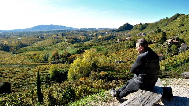 Kirwan has a passion for Italy and its wines - it's the birthplace of his wife.
