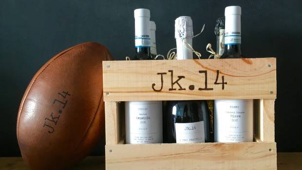 Each wine is named after close friends of the Kirwans.