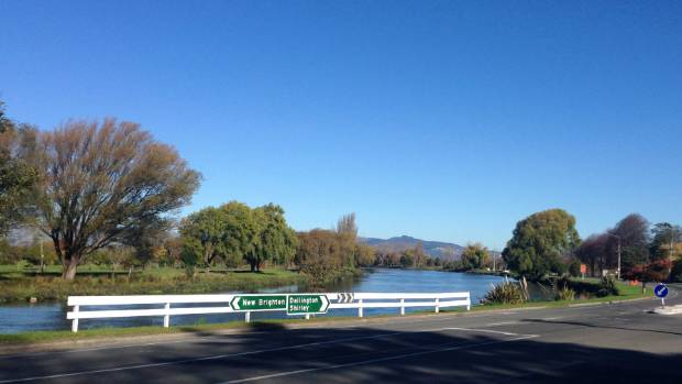 Kerrs Reach from the Burwood end looking south, the proposed northwest corner of the flat water sports course.
