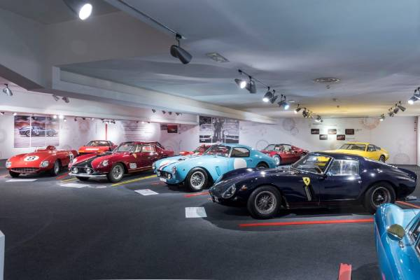 Ferrari opens new exhibitions at museum in Maranello.