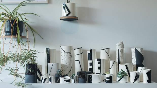 The latest ceramics range that Christie has produced under Formantics is influenced by the shapes of high fashion ...
