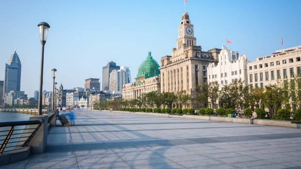 The Bund in Shanghai gives the city a distinctly un-Chinese feel.