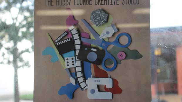 The Hobby Lounge was born out of the Johnsonville couple's shared love of getting crafty.
