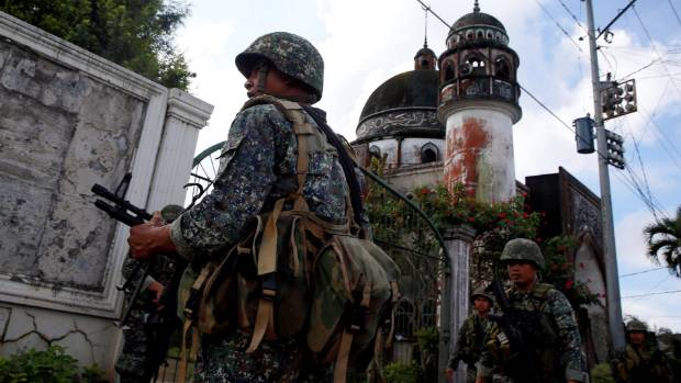 Philippines soldiers killed in 'friendly fire' air strike