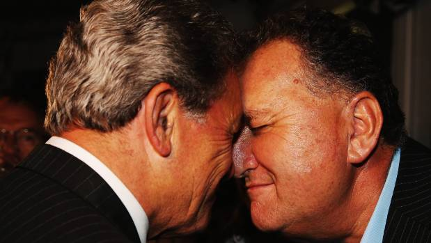 NZ First candidate Shane Jones and his friend and leader, Winston Peters, are on the same page when it comes to a ...