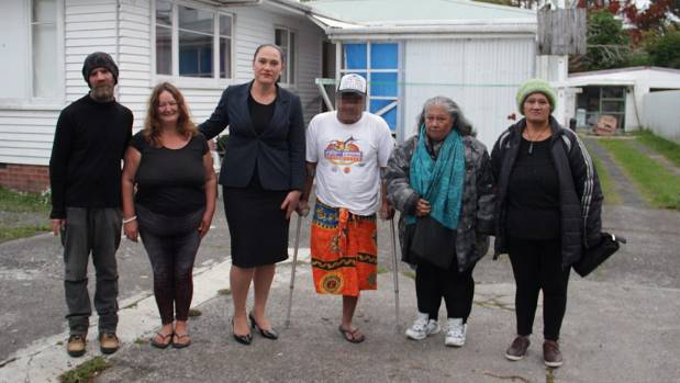 Glen Sharman, 43, Monique Haagh, 47, Kelston MP Carmel Sepuloni, a man who didn't want to be named, Tokoruam Saito, 60, ...