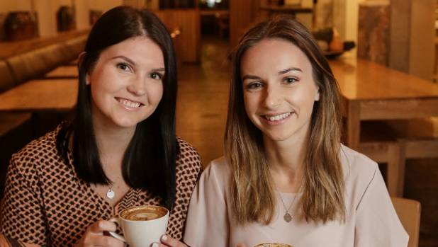 Alana Hepburn and Victoria Bostan of Capital Eats, at Loretta, one of their favourite places to eat in Wellington.