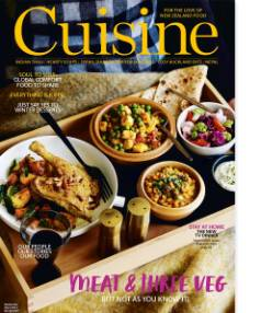 The July issue of Cuisine is in stores on Monday, June 19.