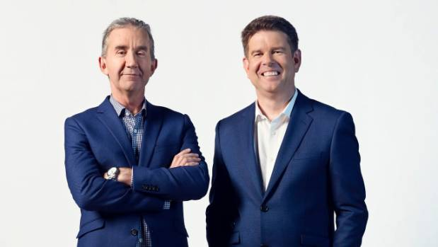 Nigel Latta and John Campbell are fronting What Next? an interactive TV show about New Zealand's future.