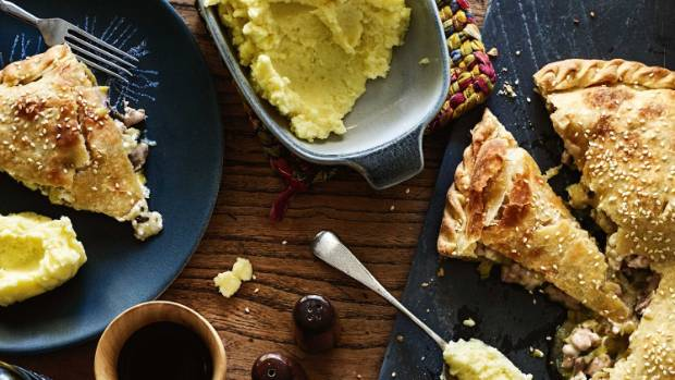 A play on a Greek classic, this pie is a real winter warmer.