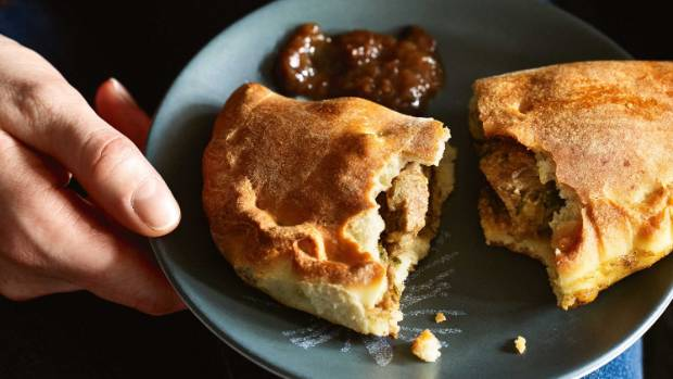 Lamb, fennel and spinach pies are a fragrant and hearty winter meal.