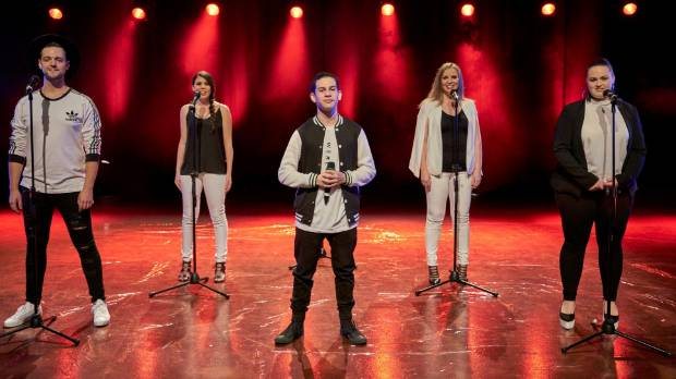 Christchurch's Voices Co. have won TVNZ's The Naked Choir.