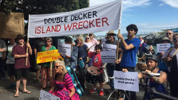 Protests by Waiheke Island residents are a sign that Kiwis are not entirely thrilled by the growing numbers of overseas ...