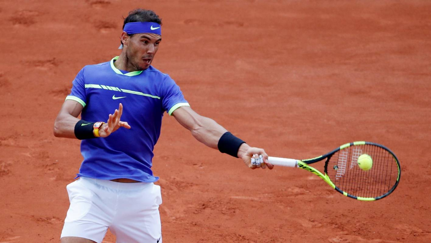 84c9936c25e893 French Open  Rafa Nadal drops one game in third round win over Basilashvili