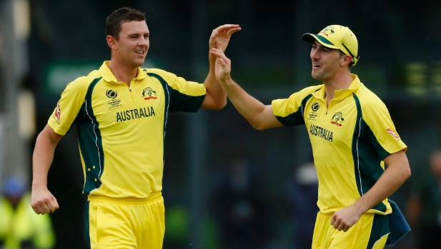 Champions Trophy: Kiwis opt to bat first against Aussies