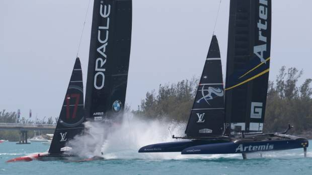 Sailing-Oracle Team USA get America's Cup headstart with New Zealand win