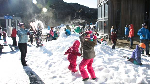 Saturday welcomed the first snow bunnies as the ski season at Whakapapa's Happy Valley kicked off.