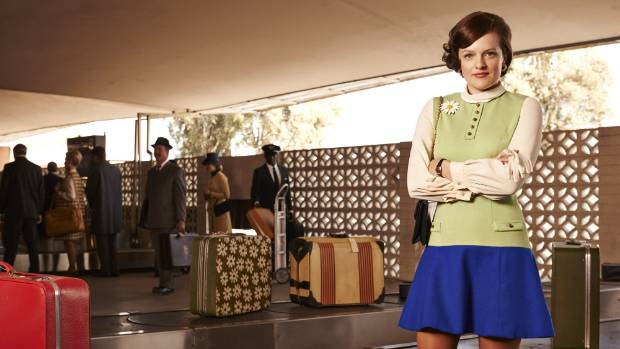 Elisabeth Moss rose to fame with her role as Peggy on Mad Men.