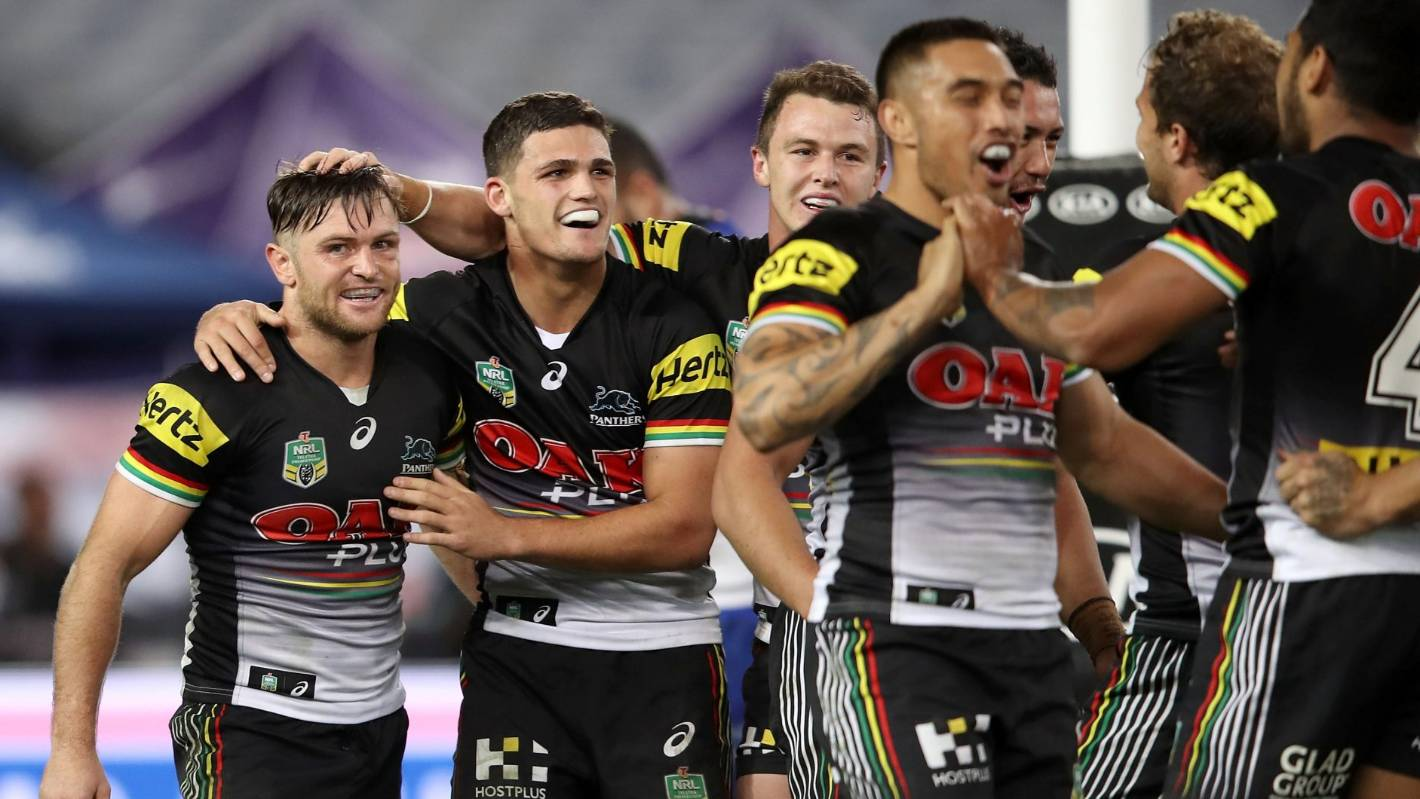 penrith panthers pounce for big win over canterbury. Black Bedroom Furniture Sets. Home Design Ideas