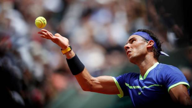 Nadal cruises into quarter-finals at Roland Garros