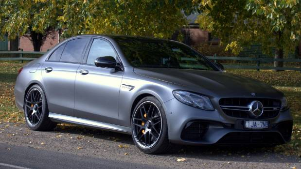 New E 63S doesn't shout about its performance. At least until you start it up.
