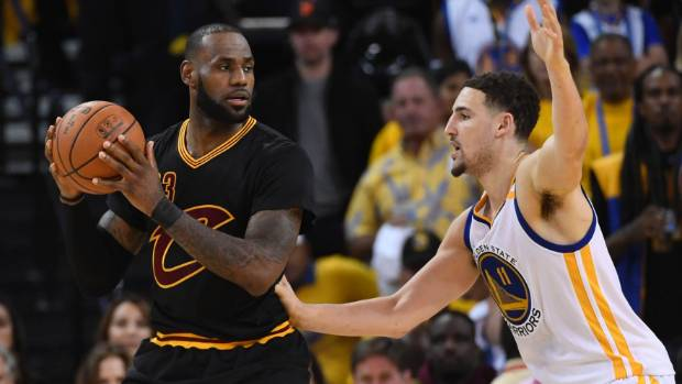 Warriors top Cavaliers and move to brink of NBA title