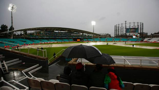 Australia frustrated by rain at the Oval