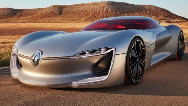 Renault's concept TreZor.